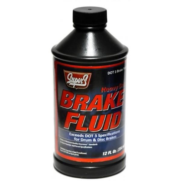 Super S Brake Fluid Dot 3.354 ml. made in USA