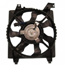 Radiator Cooling Fan Assembly Korean HYUNDAI New Accent 2005-2011