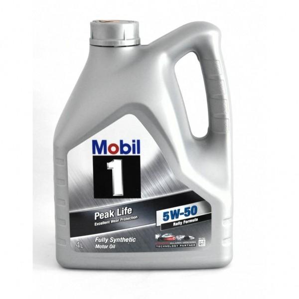Mobil 1 Motor Oil 5W 50 4 Litres