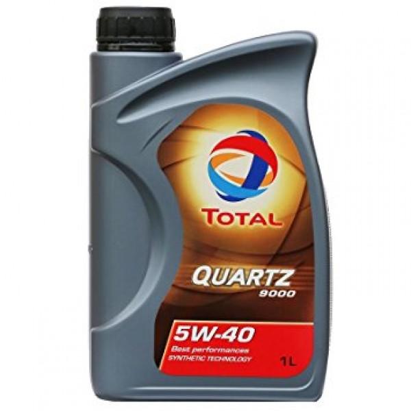 Total Quartz Motor Oil 9000 5w-40 1 Litre